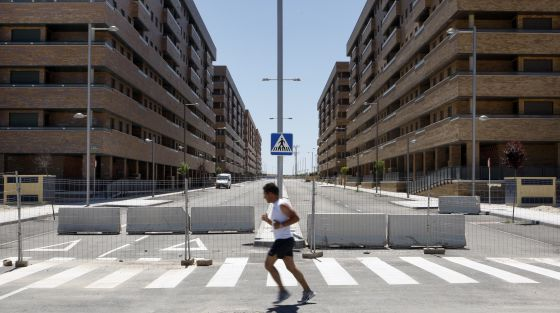 "The Sareb ""bad bank"" has earmarked 103 million euros for demolitions of unfinished housing."