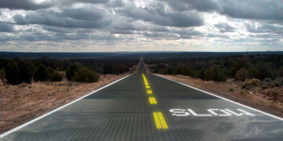 Esta carretera es un enchufe