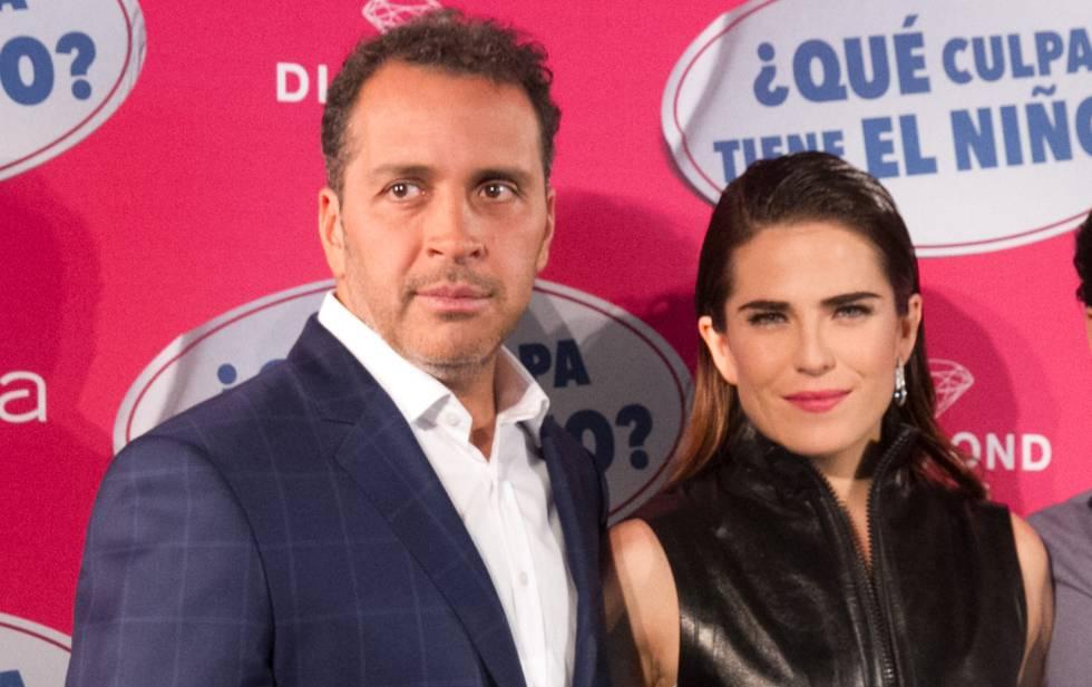 Gustavo Loza y Karla Souza, en una imagen de 2016.