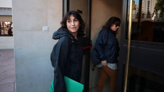 Juana Rivas en los juzgados de Granada. 91125451cda