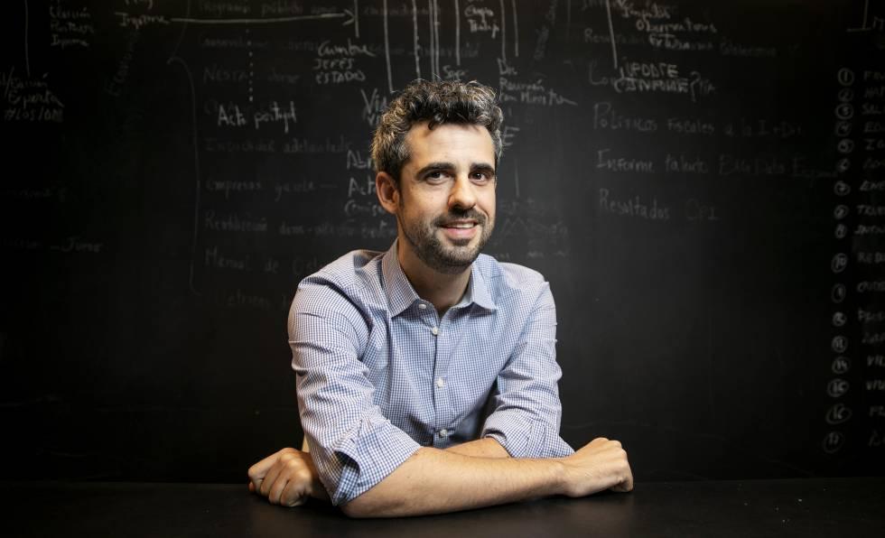 Lucas Gortázar en la Fundación Cotec.