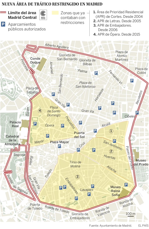 Todo lo que tiene que saber sobre el tráfico si va de visita a Madrid