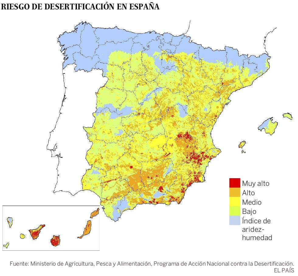 Europa no está preparada para luchar contra la desertificación que la acecha
