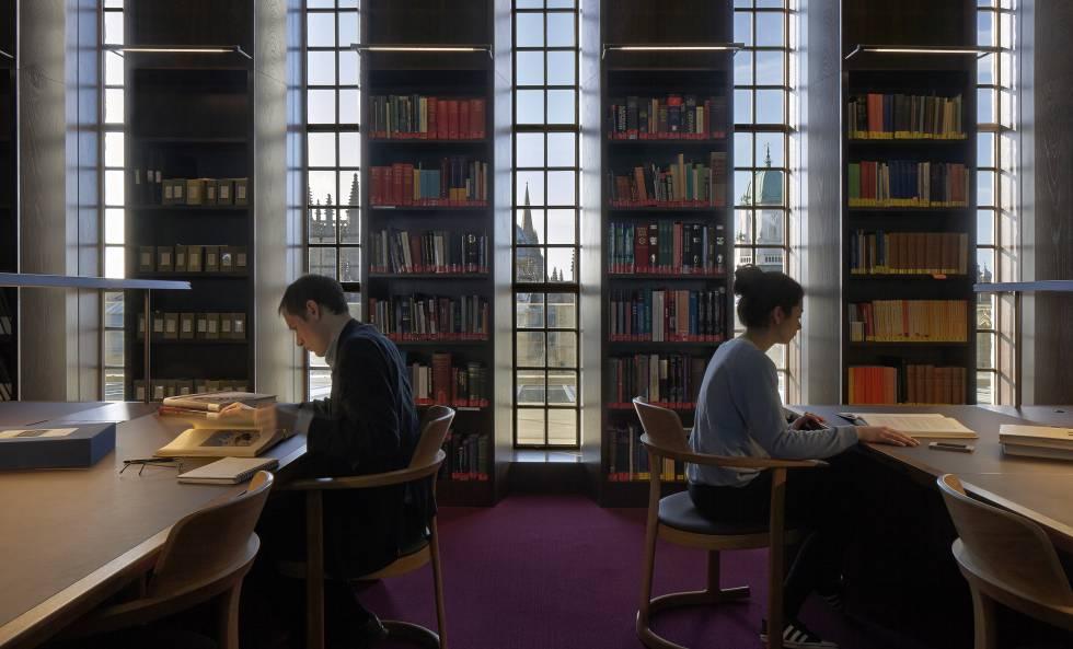 Sala de lectura en Oxford (Reino Unido), en una foto de archivo.