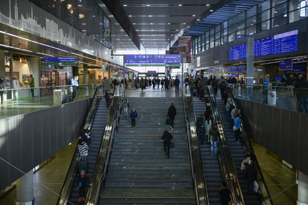 Imagen de archivo de la Estación Central de Viena.
