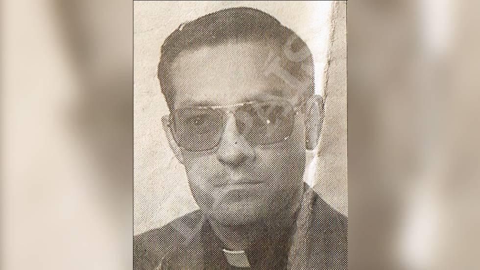Francisco Carreras, el sacerdote acusado de abusos en Salamanca, en una imagen de los años noventa.