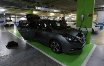 Viaje de Madrid a Sevilla en coche eléctrico.