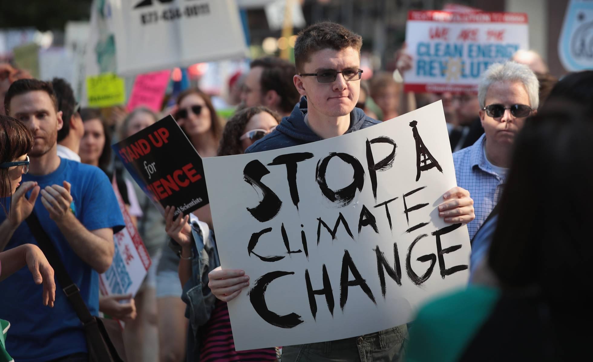 Los estudiantes de EE UU se suman a las protestas por el clima