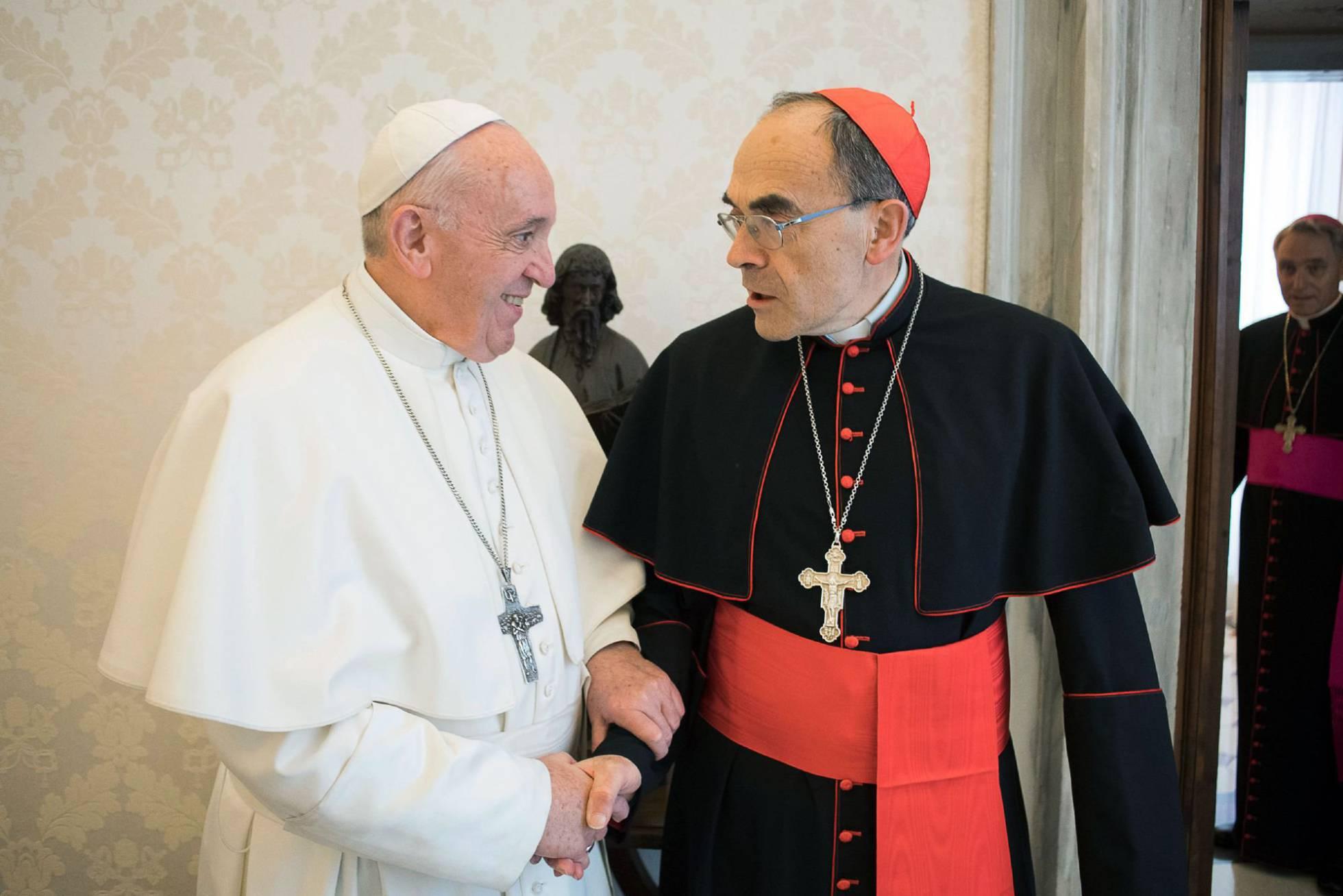 Barbarin, con el Papa