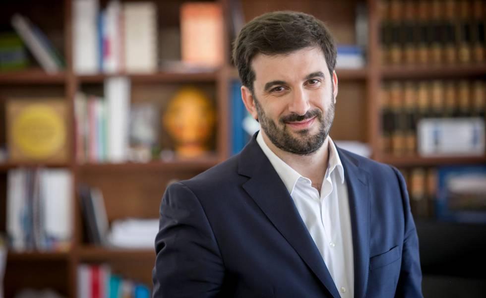 Tiago Brandão Rodrigues, ministro de Educación de Portugal.