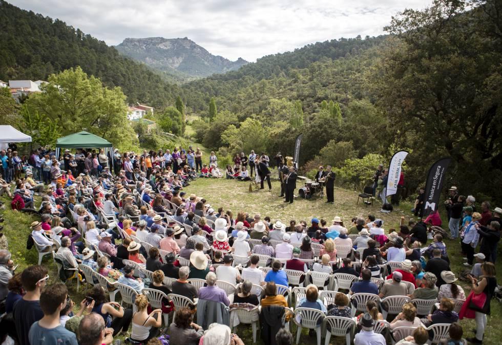 Uno de los conciertos durante el festival de 2018.