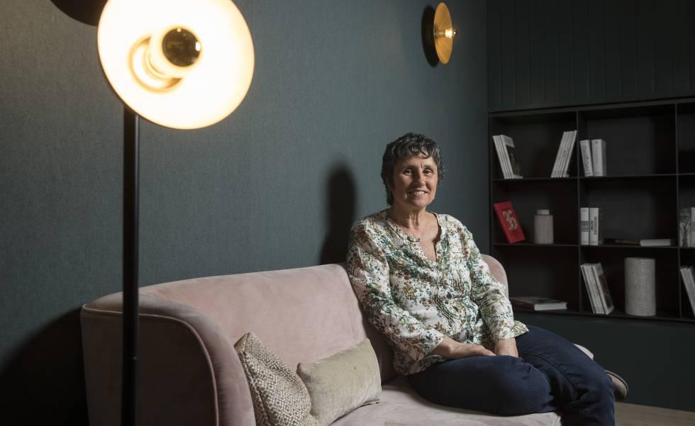 La psicóloga Mireia Darder en Madrid, en abril de 2019.