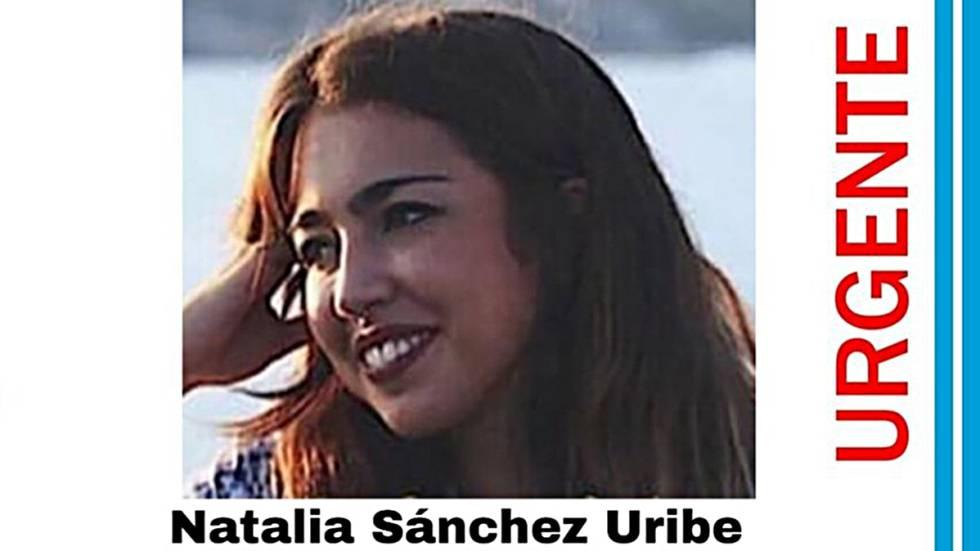 Natalia Sánchez Uribe, estudiante de 22 años desaparecida en París (Francia).