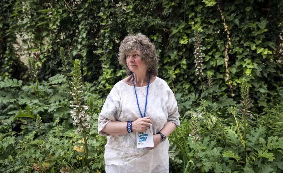 Marion Hammerl, presidenta de Living Lakes, en la conferencia de Valencia.