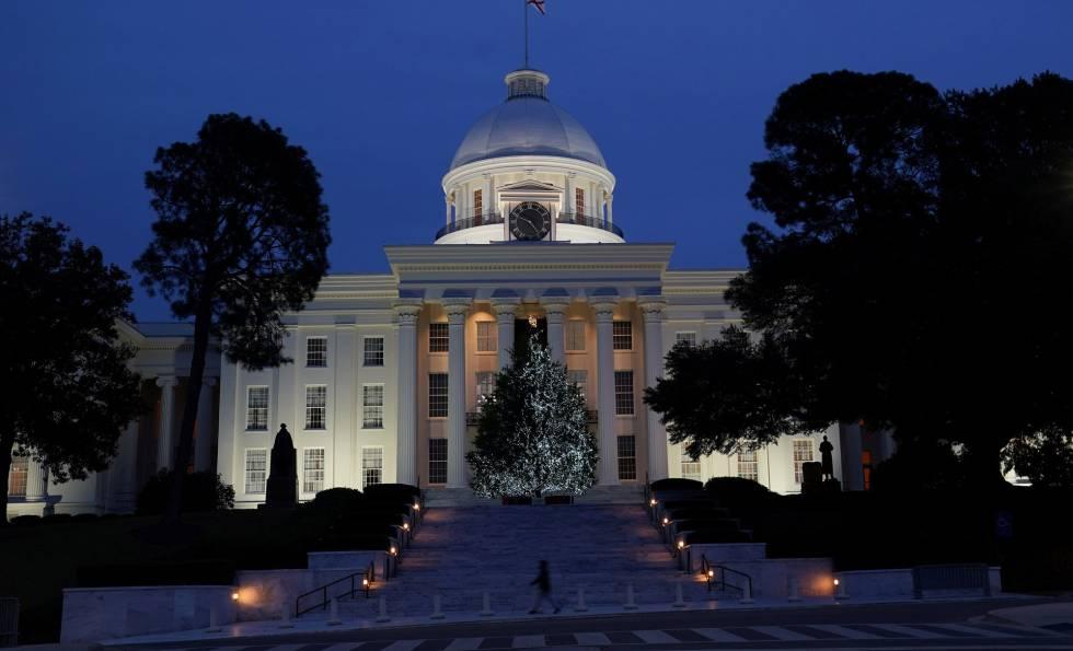 Capitolio del Estado de Alabama.