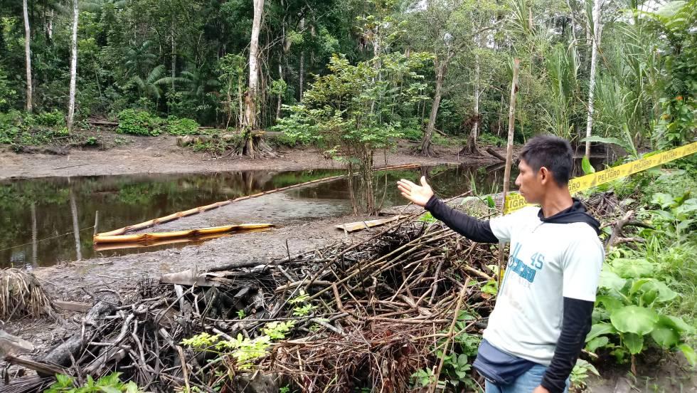En la comunidad indígena peruana de San Pedro las aguas de los ríos siguen contaminadas por el derrame de petróleo.