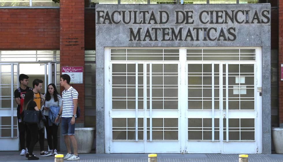 Facultad de Ciencias Matemáticas de la Universidad Complutense.