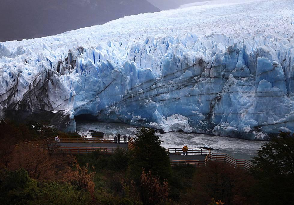 Parque Nacional Los Glaciares, en la provincia argentina de Santa Cruz.