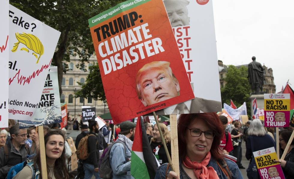 El Acuerdo de París resiste (de momento) a Trump | Sociedad | EL PAÍS
