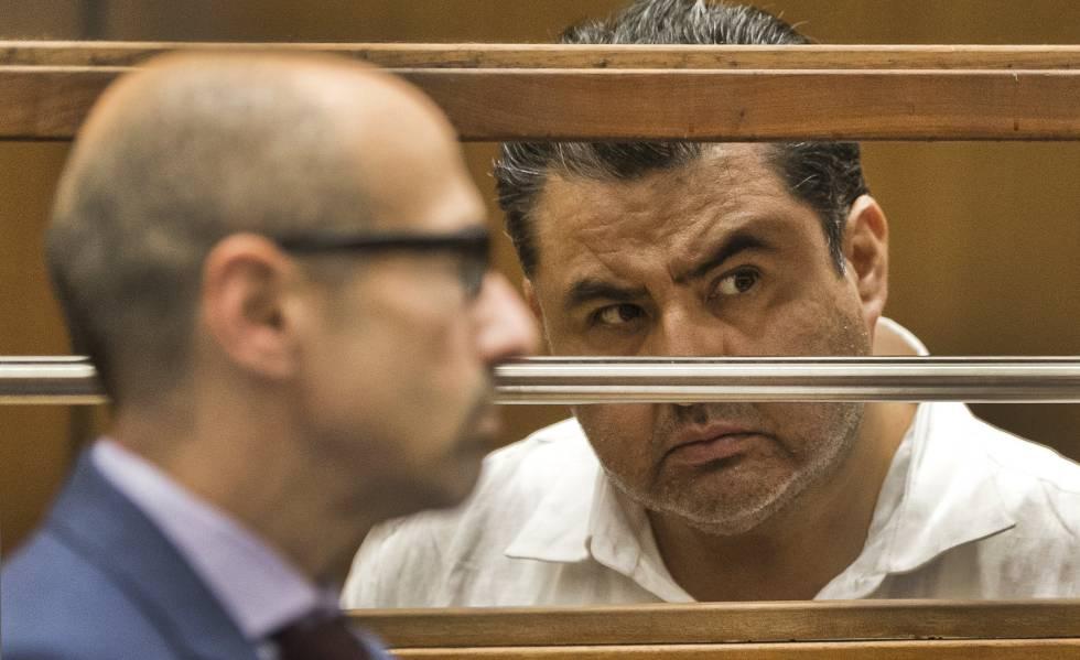Naasón Joaquin Garcia, en un tribunal de Los Ángeles.