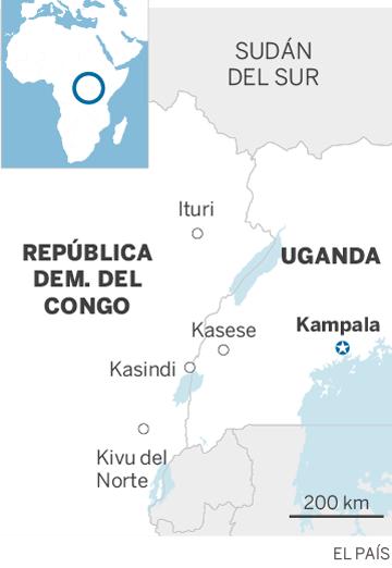 El ébola salta las fronteras del Congo y entra en Uganda