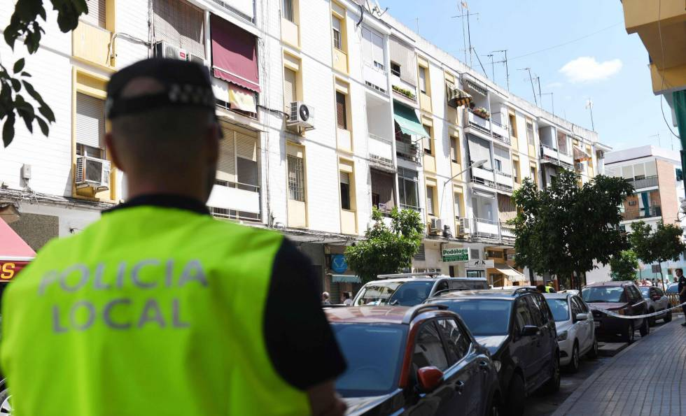 Bloque de Córdoba donde se han producido los hechos.