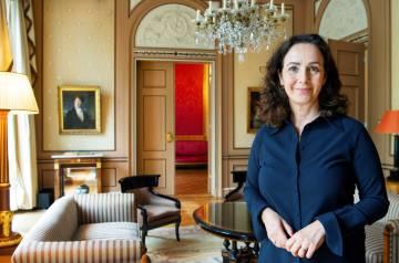 La alcaldesa de Ámsterda, Femke Halsema, el 26 de junio.
