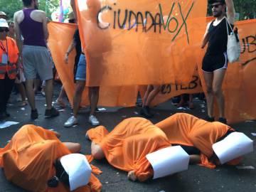 Polémica por el boicot contra Ciudadanos que paralizó el Orgullo