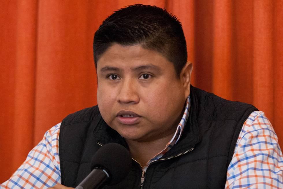 José Luis Abarca, hijo de Mariano Abarca, en marzo de 2019.