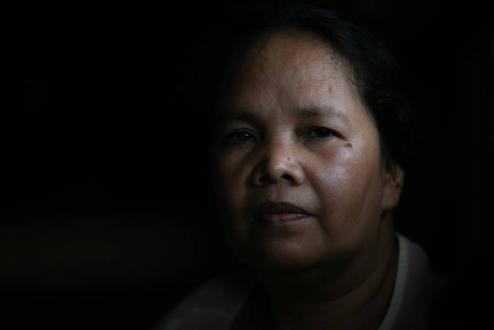 La ecologista filipina Marcie Sanduan.