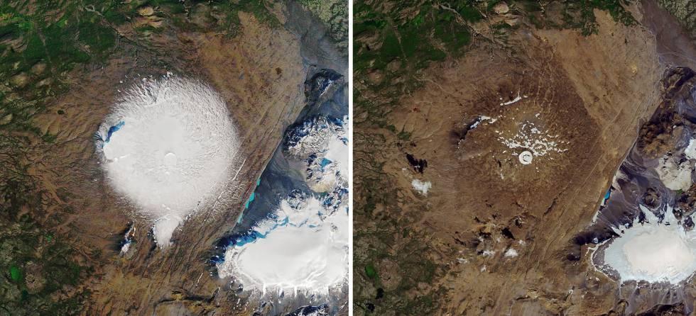 Réquiem por la muerte de un glaciar islandés