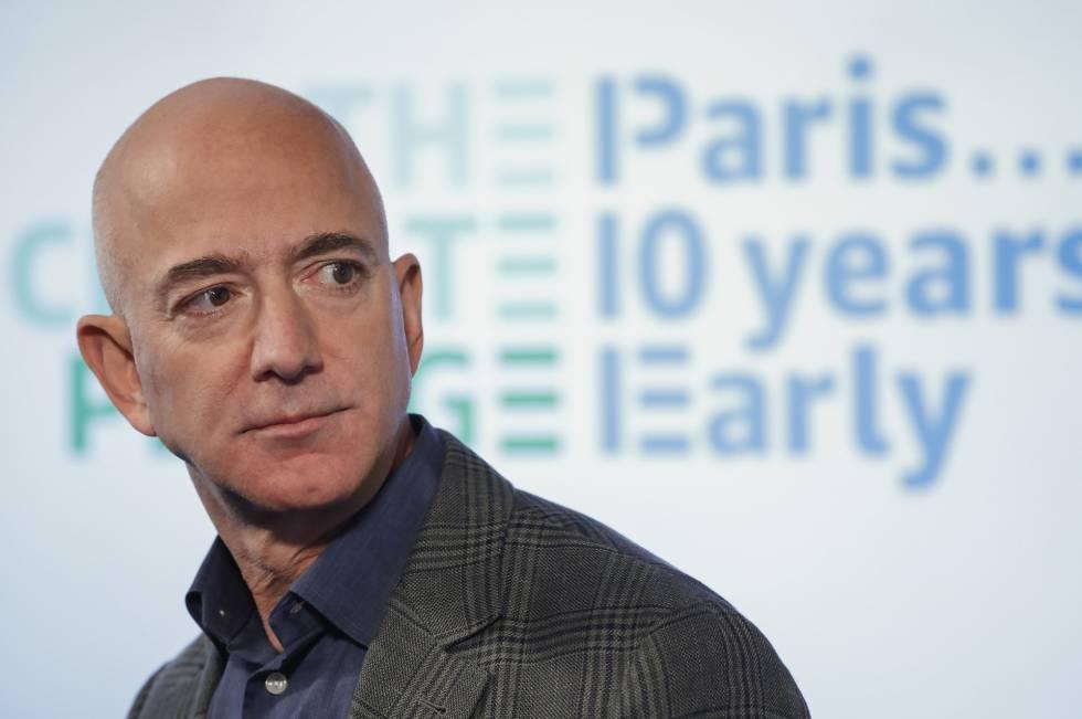 Jeff Bezos promete liderar la lucha corporativa contra la crisis climática