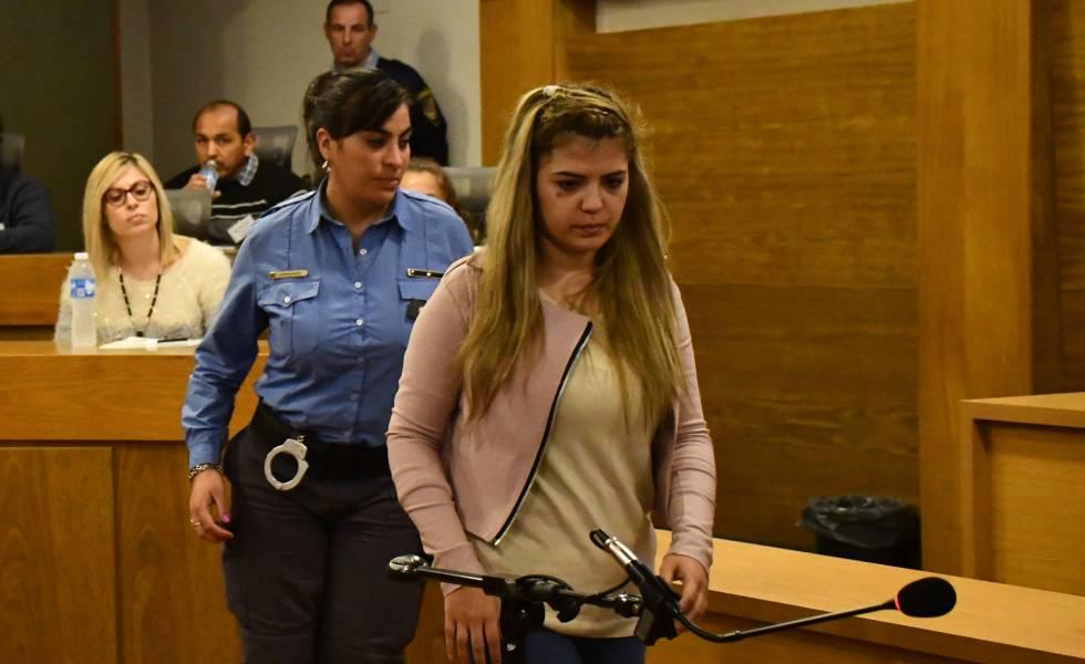 Brenda Barattini durante el juicio en su contra celebrado en Córdoba.