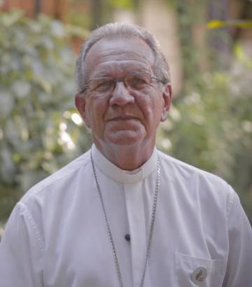 El obispo de São Gabriel da Cachoeira, Edson Damián.