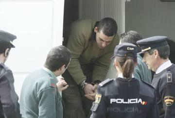 José Manuel Pulleiro, encargado al frente del burdel La Colina, tras su detención.