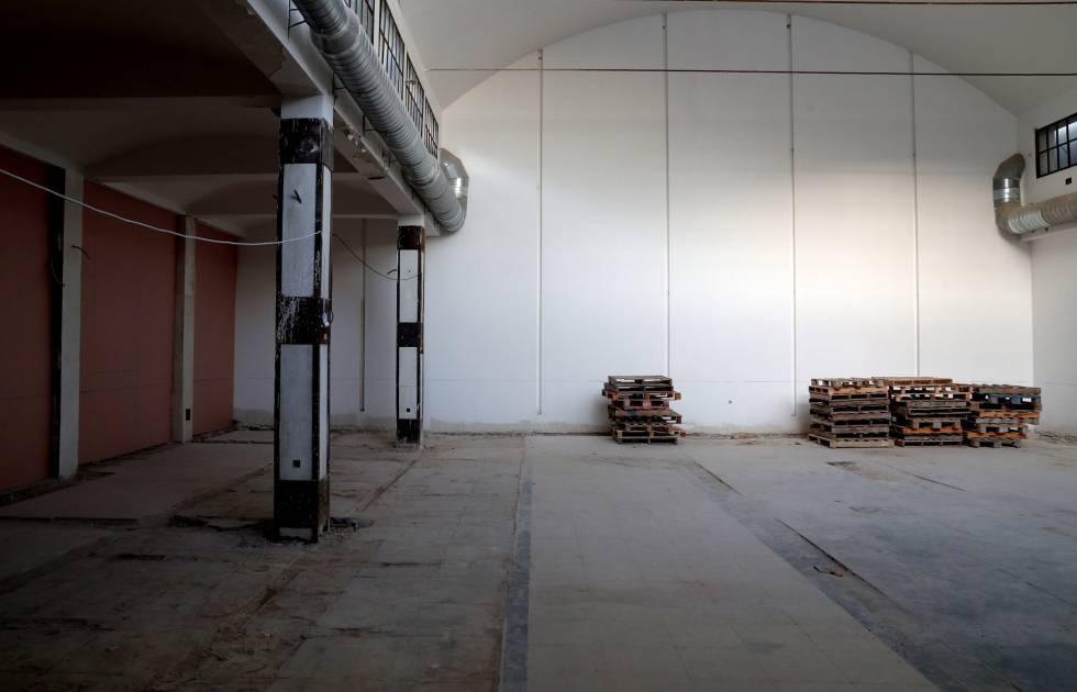 El local donde se ubicará Supercoop, en Lavapiés (Madrid).