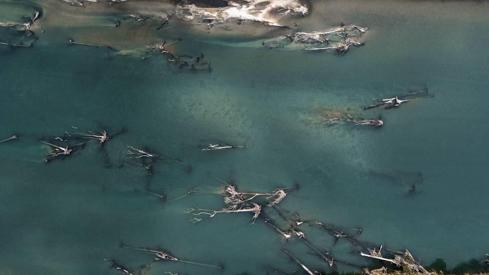 Río Lacantún en la Reserva De Montes Azules