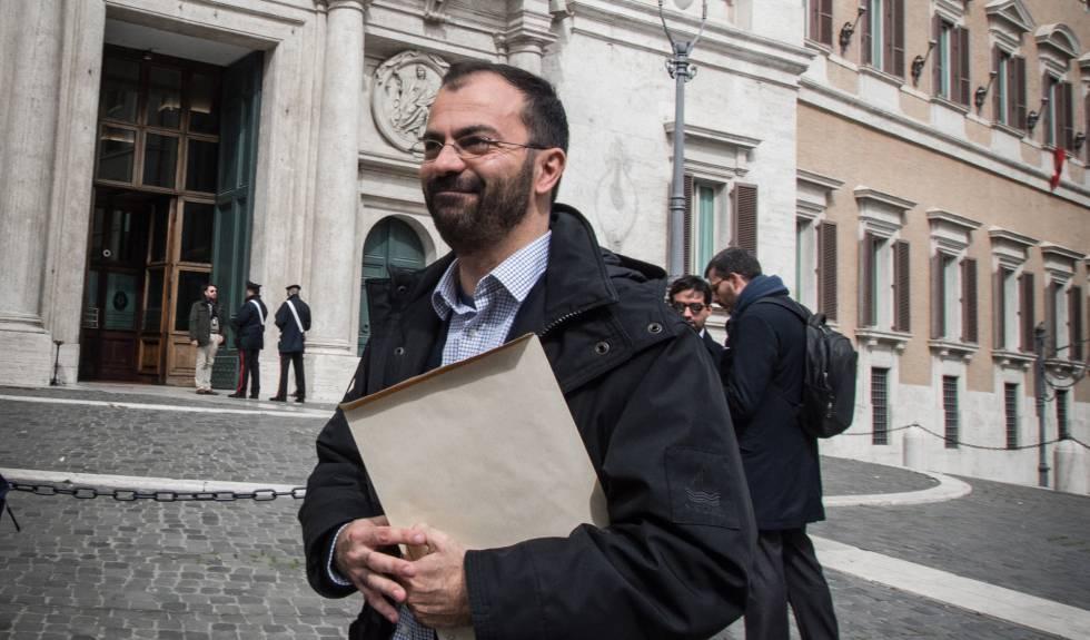 El ministro de Educación italiano, Lorenzo Fioramonti.