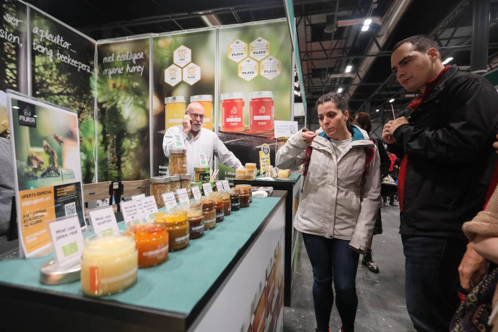 Organic honey from Biomuria, beekeepers from Tarragona.