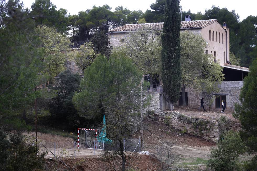 El Centro Mas Amigò de Igualada, donde permaneció Omar.