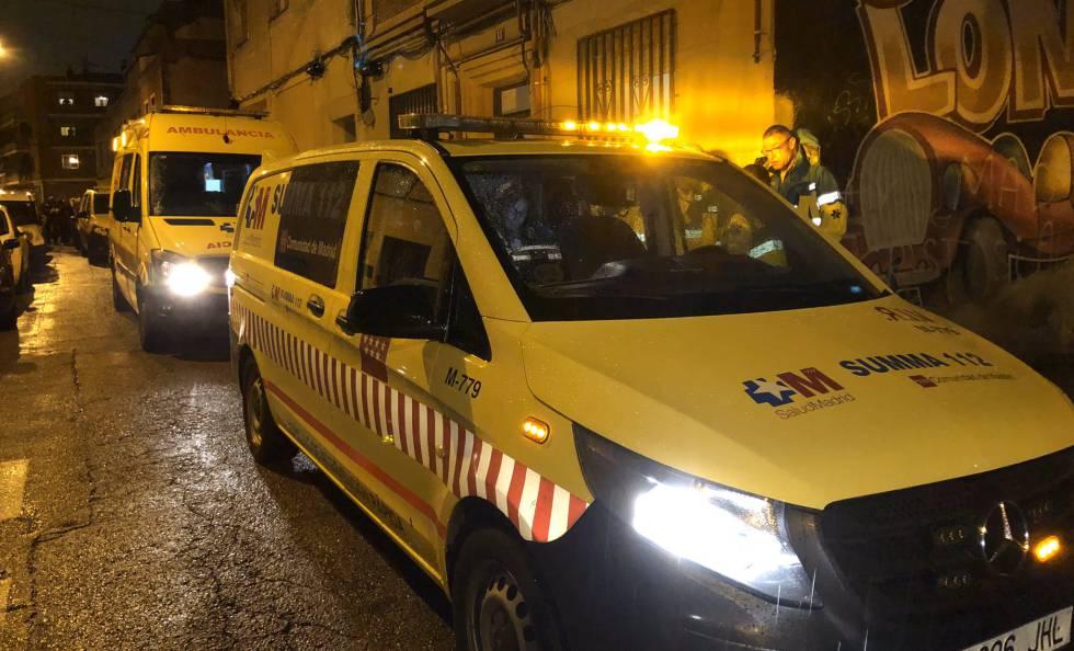 Imagen de la calle Rascón número 18 de Madrid, donde ha muerto una mujer apuñalada.