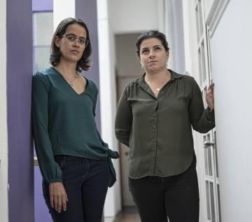 Belén Márquez y Biani López, víctimas del legionario Fernando Martínez.