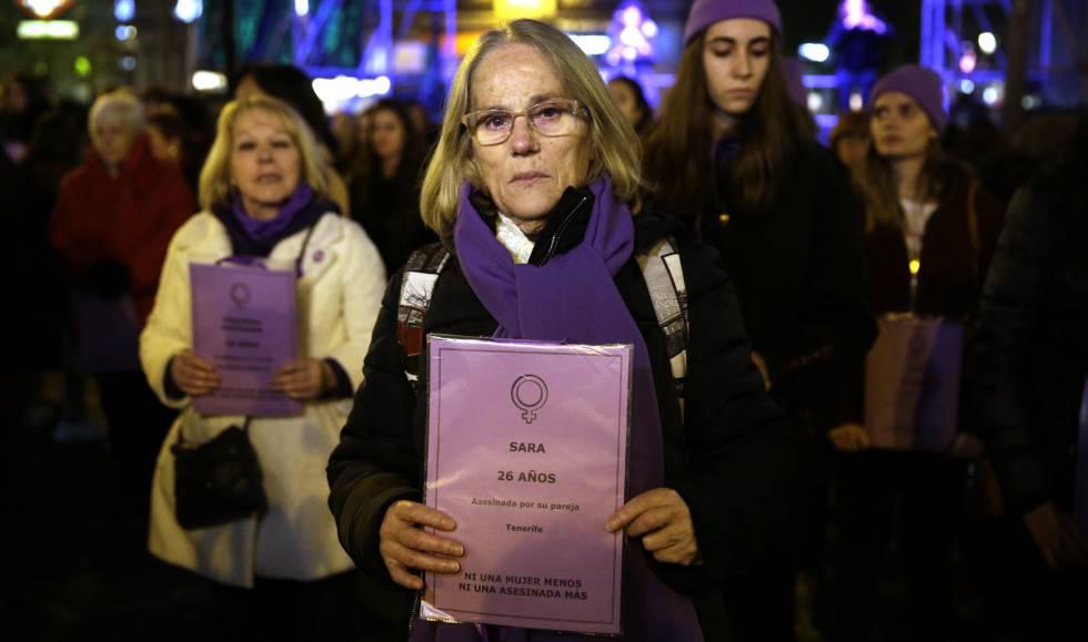 Manifestación contra la violencia machista, el pasado 25 de noviembre en Madrid.