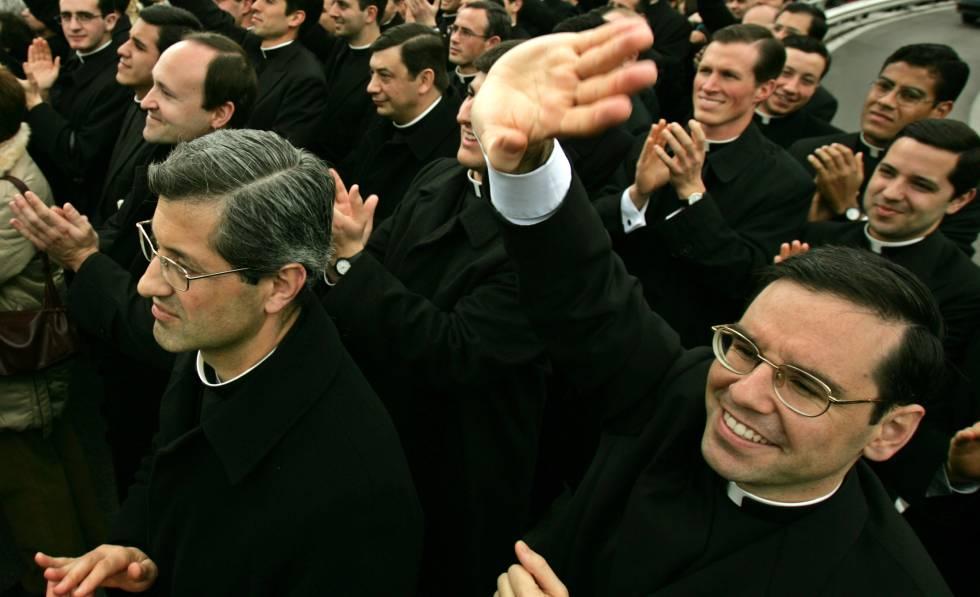 Parte de los Legionarios de Cristo, en 2005.