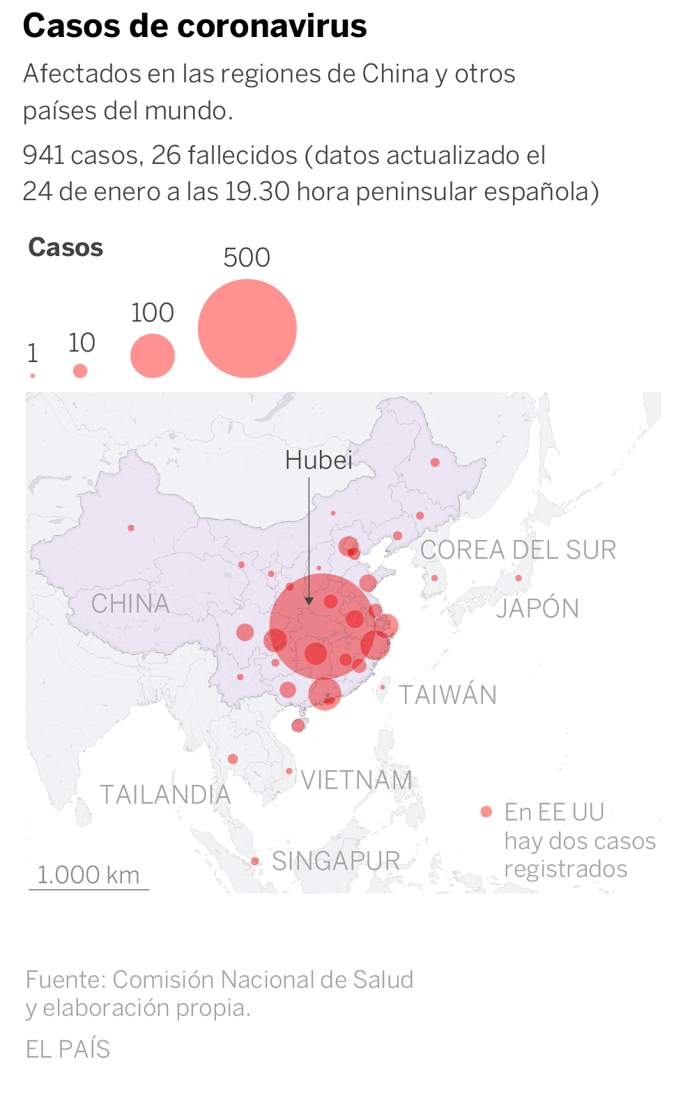 China amplía la cuarentena a 41 millones de personas y construye de urgencia un hospital contra el coronavirus
