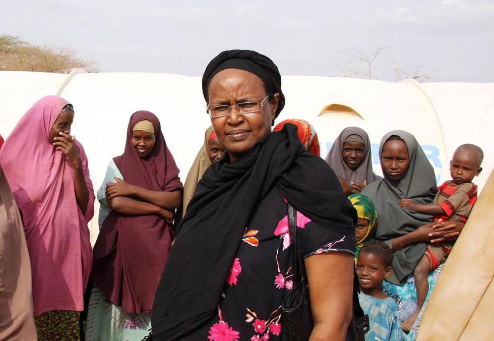 Asha Ismail imparte talleres para erradicar la ablación.
