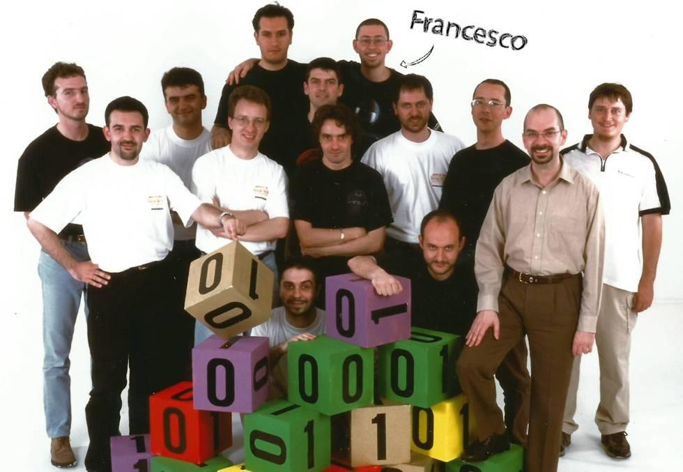 Uno de los equipos de trabajo de Francesco en Ubisoft.