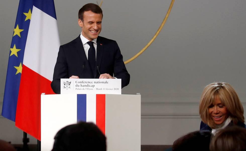 Macron Abre El Debate Sobre La Ayuda Sexual A Las Personas Discapacitadas Sociedad El Pais
