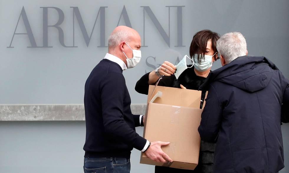 Armani Realiza A Puerta Cerrada Su Desfile En La Semana De La Moda De Milan Por El Coronavirus Sociedad El Pais