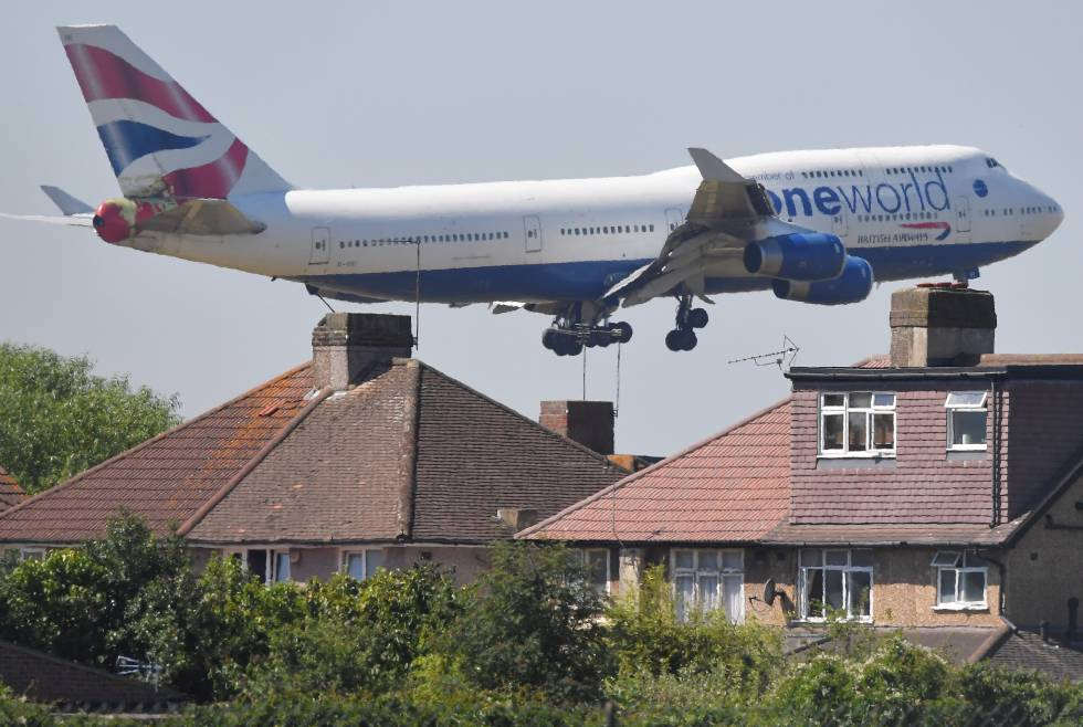La justicia frena la ampliación del aeropuerto de Heathrow por el cambio climático